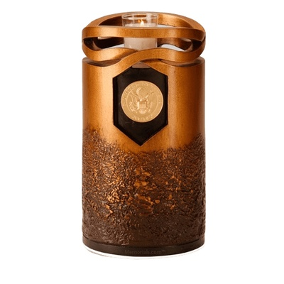 Infinity Army Cremation Urn