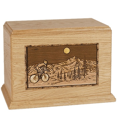 Cycling Maple Companion Urn