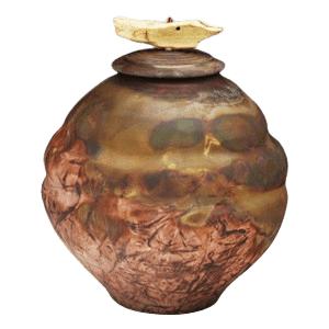 Caballera Raku Cremation Urn