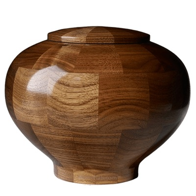 Canton Large Wood Urn