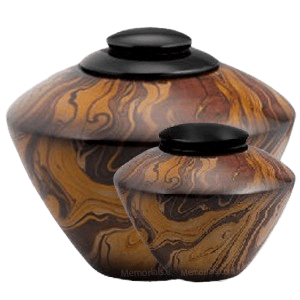 Caramel Marble Cremation Urns