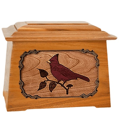 Cardinal Mahogany Aristocrat Cremation Urn