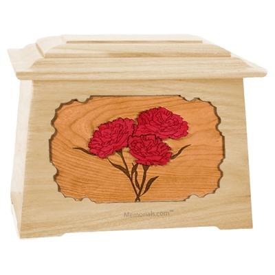 Carnation Maple Aristocrat Cremation Urn
