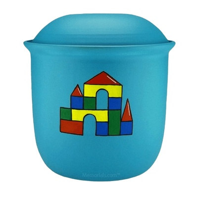Castle Blocks Child Urn