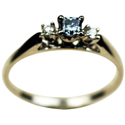 Cathedral Ring With Accent Diamonds III