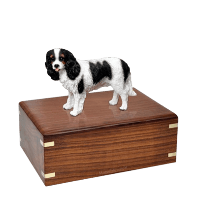 Cavalier Charles Spaniel Medium Doggy Urn
