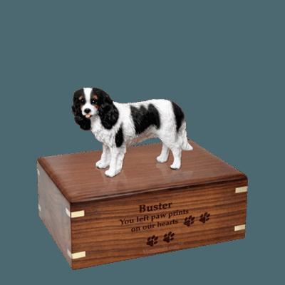 Cavalier Charles Spaniel Small Doggy Urn