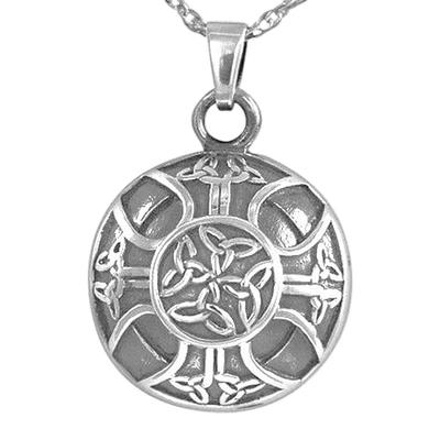 Celtic Circle Cremation Pendant