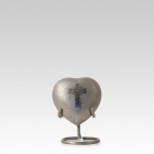 Celtic Cross Heart Cremation Urn