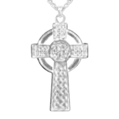 Celtic Cross Keepsake Pendant