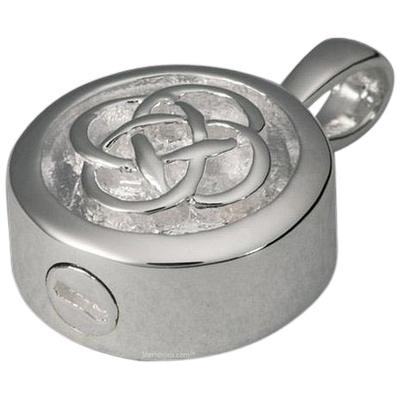 Celtic Knot Cremation Pendant III