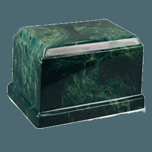 Cherish Forest Marble Cremation Urn