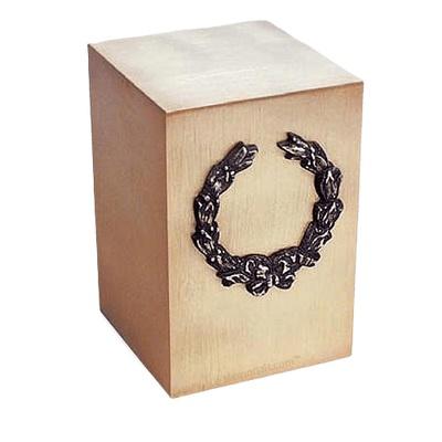 Chaplet Bronze Cremation Urn
