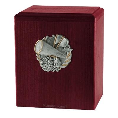 Cheerleader Rosewood Cremation Urn
