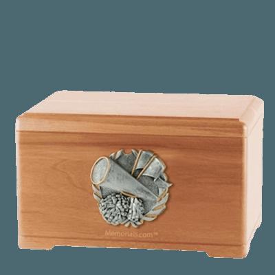 Cheerleading Light Cherry Cremation Urn