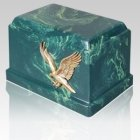Cherish Eagle Marble Cremation Urn
