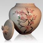 Cherry Blossom Cremation Urn