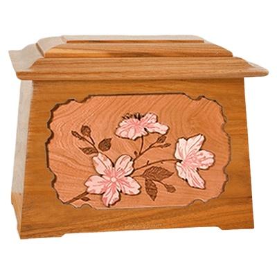 Cherry Blossom Mahogany Aristocrat Cremation Urn