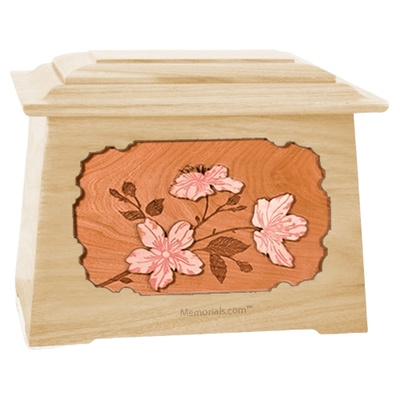 Cherry Blossom Maple Aristocrat Cremation Urn