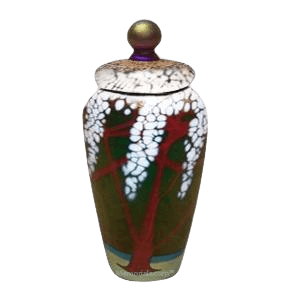 Cherry Dreams Cremation Urn