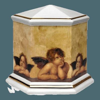 Cherub Angel Religious Urn