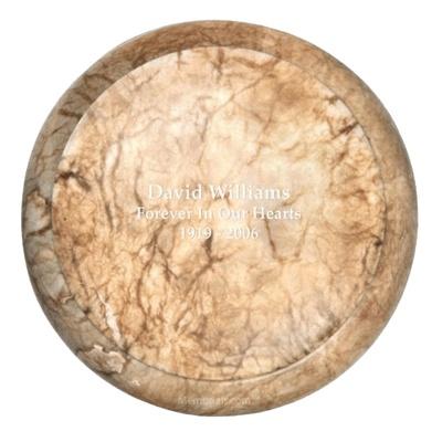 Chestnut Stone Cremation Urn