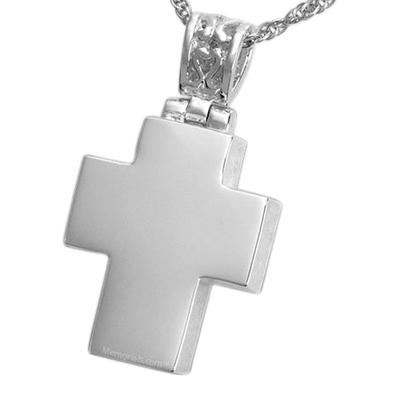 Chic Cross Cremation Pendant