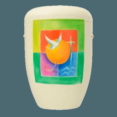 Christian Biodegradable Urn