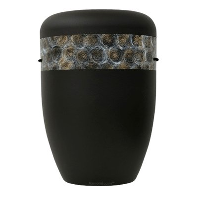 Cirquel Black Biodegradable Urn