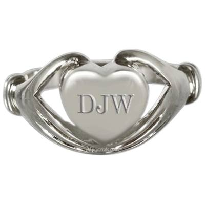 Claddagh Cremation Ring