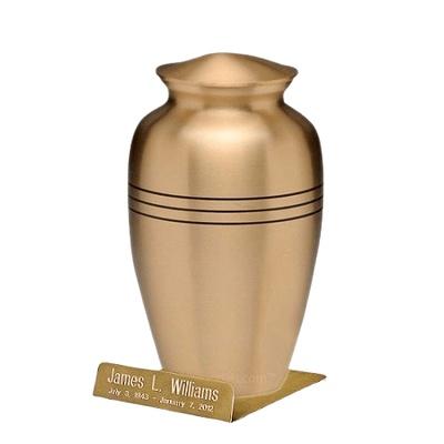 Classic Gold Urn Easel