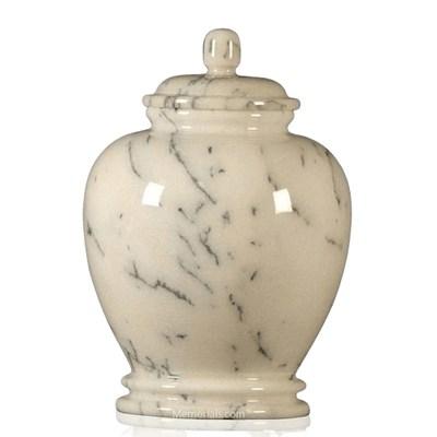 Classic Ivory Child Cremation Urns