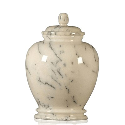 Classic Ivory Small Child Urn