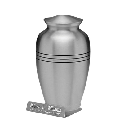Classic Silver Urn Easel