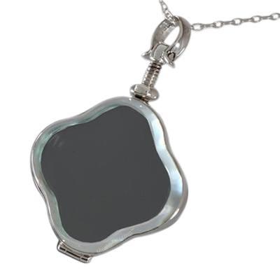 Clover Glass Locket Memorial Jewelry