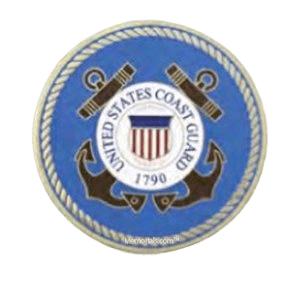 Coast Guard Insignia Medallion Appliques