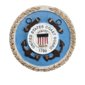 Coast Guard Medallion Appliques