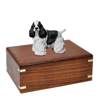 Cocker Spaniel Large Doggy Urn