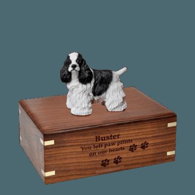 Cocker Spaniel Medium Doggy Urn