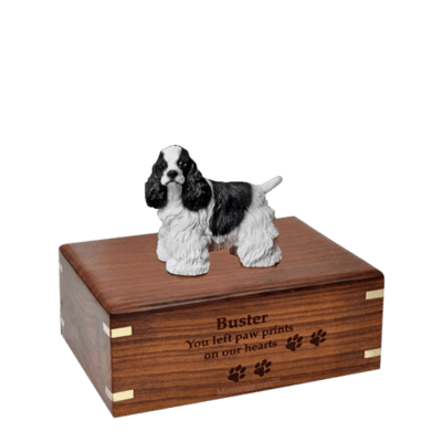 Cocker Spaniel Small Doggy Urn