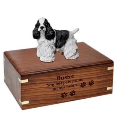 Cocker Spaniel X-Large Doggy Urn
