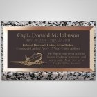 Commercial Pilot Bronze Plaque