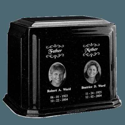 Millennium Charcoal Companion Marble Urn