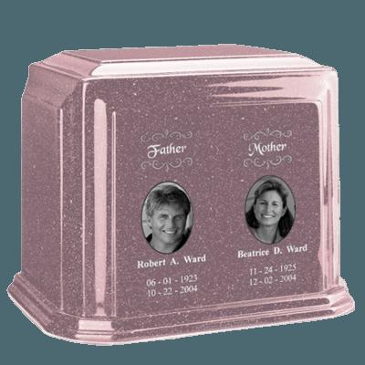 Millennium Rose Companion Marble Urn