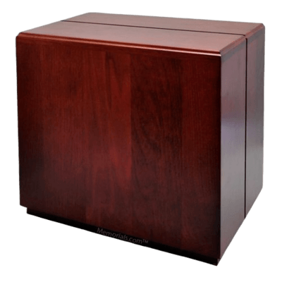 Contempo Wood Companion Cremation Urn