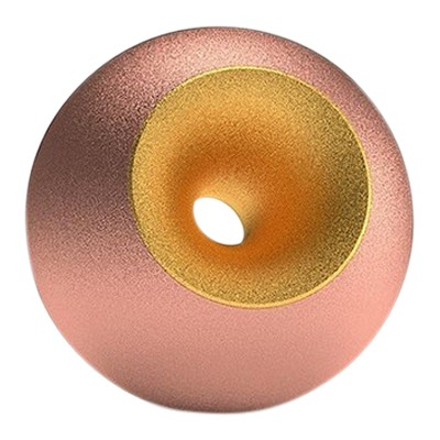 Copper Gold Sand Sphere Pet Urn