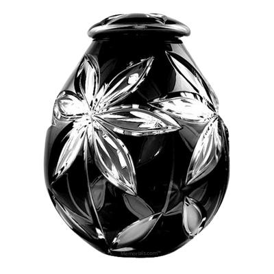 Cosmos Glass Child Cremation Urn