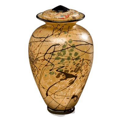 Creative Motion Glass Urn