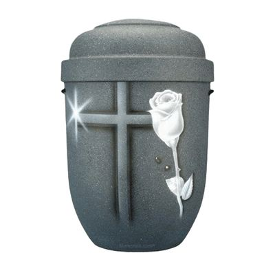 Cross & Rose Biodegradable Urn