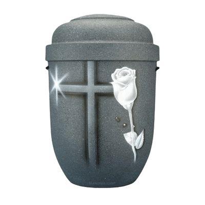 Cross & Rose Biodegradable Urn